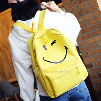 Winking Smiley Face Backpack