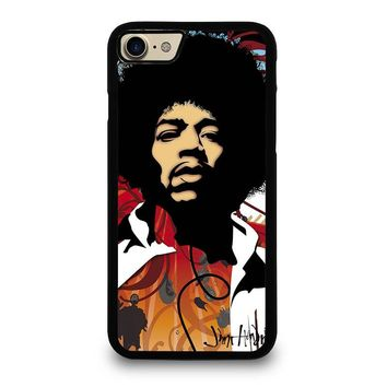 JIMI HENDRIX Art iPhone 4/4S 5/5S/SE 5C 6/6S 7 8 Plus X Case