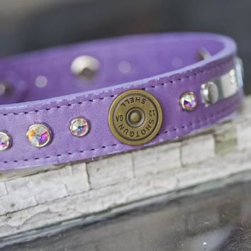 12 Gauge Personalized Dog Collar