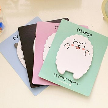 CatRat's Kawaii Post It Sticky Notes with Panda and Lamb