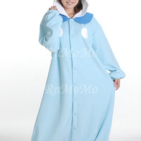 KIGURUMI Cosplay Romper Charactor animal Hooded Night clothes Pajamas Pyjamas Costume sloth  outfit Sleepwear-piplup  penguin