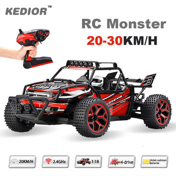 2017 High Speed RC car drift 1:18 buggies radio controlled machine micro racing Remote Control Car Model Toys with Lipo battery