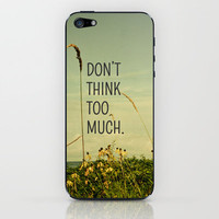 Travel Like A Bird Without a Care iPhone & iPod Skin by Olivia Joy StClaire | Society6