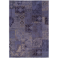 "Revival 501L2 Oriental Purple-Grey Area Rug (5'3"" X 7'6"")"