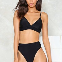 High Leg High Waist Bikini Brief