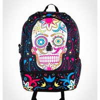 Mojo Sugar Skull Backpack