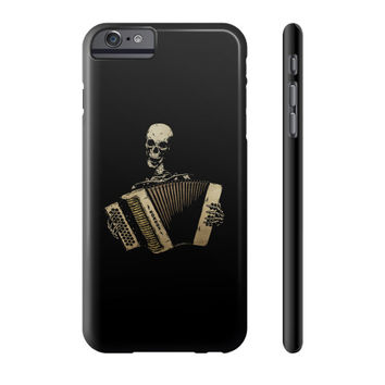 The Piano Accordion Blues Phone Case