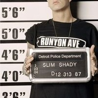Eminem Police Line up Poster - New Rap Gangster 24x36