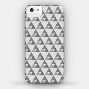 Gray Triangles Pattern