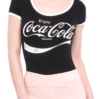 SHORT SLEEVE COCA COLA BODYSUIT - SALE