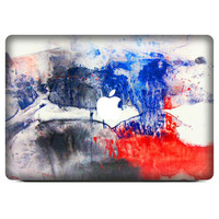 "Vinyl Watercolour Painting  Abstract 3D Skin Cover  Protector Sticker Hollow out For Apple Macbook Air Pro Retina 11"" 13.3"" 15"""