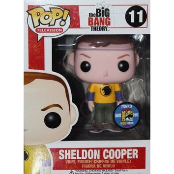 SDCC Exclusive - Sheldon Hawkman Big Bang Theory Funko POP! Figure!