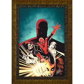 Shadowland #1 - Limited Edition Artist Proof Giclee on Canvas by John Cassaday and Marvel Comics Hand Signed by Stan Lee