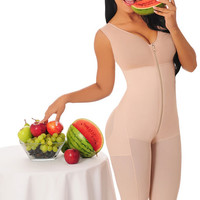 Knee Length Body Shaper 523
