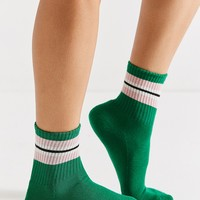 Out From Under Colorblock Striped Crew Sock | Urban Outfitters