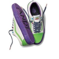 Vans Disney Pixar Toy Story Buzz Lightyear Old School Shoes Mens US Size 12