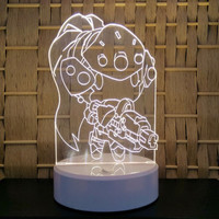 Overwatch Widowmaker Chibi LED Tabletop Lamp