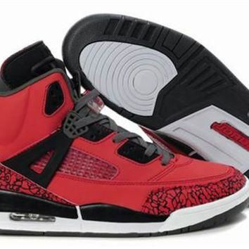 Cheap Air Jordan 3.5 Spizike Retro Men Shoes Red Black