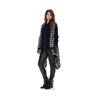 MAT Houndstooth Sweater Gilet