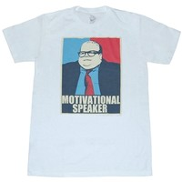 SNL Shirts - Saturday Night Live Motivational Speaker Matt Foley T-Shirt By Animation Shops