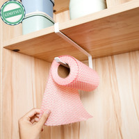 Kitchen Paper Hanger Sink Roll Towel Holder Organizer Rack Space