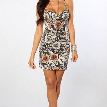 The Pocket Full Of Posies Dress in Black