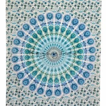 Twin Indian Mandala Hippie Tapestry Wall Hanging Bedding Bedspread Ethnic 2969