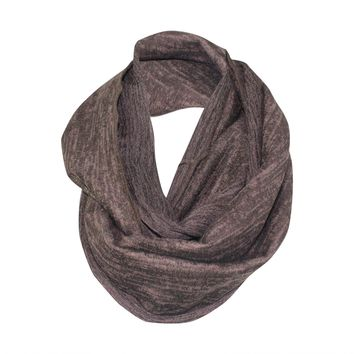 Heather Gold Foil Infinity Scarf