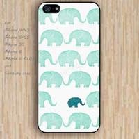 iPhone 5s 6 case elephant cartoon flowers dream catcher colorful phone case iphone case,ipod case,samsung galaxy case available plastic rubber case waterproof B629