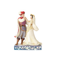 Disney Traditions Wedding Snow White & Prince Jim Shore Figurine New with Box