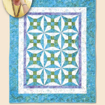 Quilt Pattern, Opposites Attract, Eleanor Burns Signature Patterns, Lap Size