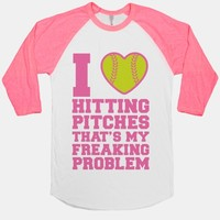 I Love Hitting Pitches That's my Freaking Problem