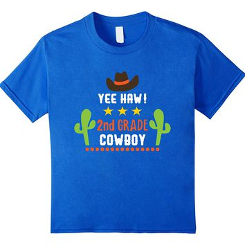 Cowboy Second Grade Back To School T-shirt