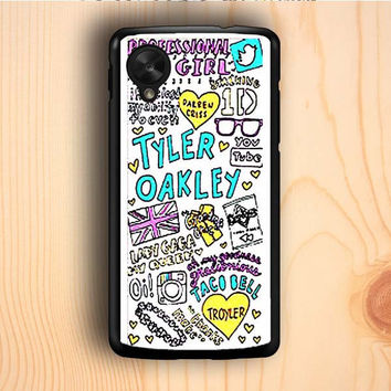 Dream colorful Tyler Oakley Nexus 5 Case