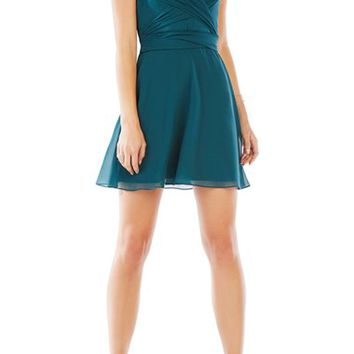 BCBGMAXAZRIA 'Shay' Silk Skater Dress | Nordstrom