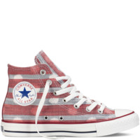 Varsity Red Chuck Taylor Stripes & Dots : Canvas Chucks | Converse.com