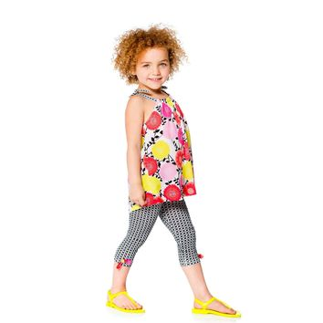 Deux Par Deux So Happy Tunic & Leggings Set (sz. 12m-5)