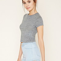 Slub Knit Crop Top | Forever 21 - 2000186231