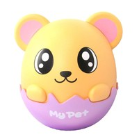 Adorable Hamster Gerbil Mouse Egg Shaped Money Box Piggy Coin Bank | DOTOLY