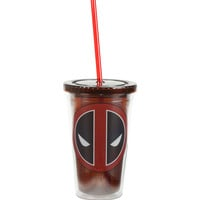Marvel Deadpool Logo Acrylic Cup
