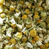 Organic Chamomile Flowers . One Ounce . For Sweet Dreaming, Sleep, Purification, Abundance, Calming and Love Spells