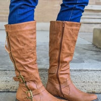 Abbey Road Cognac Boots