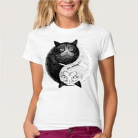 Cute Ying and Yang Women's T-Shirt