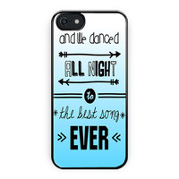 One Direction Lyrics Best Song iPhone 5/5S Case