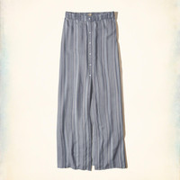Girls Button-Front Woven Maxi Skirt | Girls Bottoms | HollisterCo.com