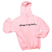 "Larry Stylinson ""Always in my Heart"" Unisex Adult Hoodie Sweatshirt"
