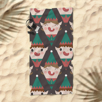Day 22/25 Advent - Little Helpers Beach Towel by lalainelim