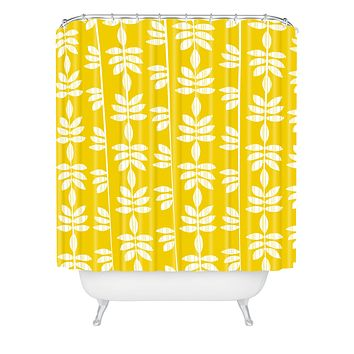 Heather Dutton Abadi Sunburst Shower Curtain