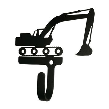 Wrought Iron Excavator Decorative Wall Hook Small