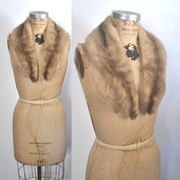 1950s Mink Fur Collar